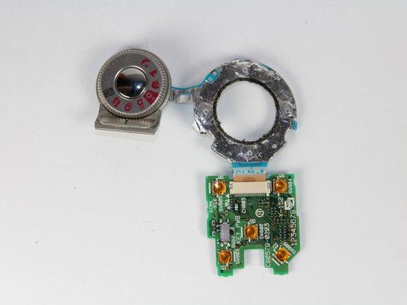 Fujifilm FinePix 4700 Zoom Button Circuit Board Replacement