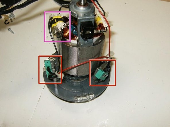 Here is the motor removed from the base. The motor plate list it as D.S.D. Motor Co. LTD Model 5443/125 M12