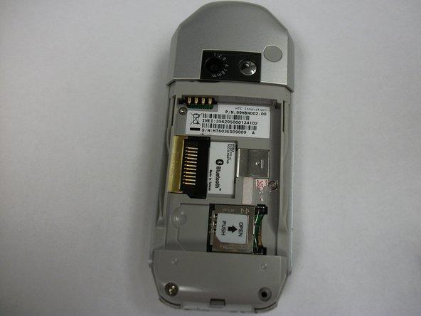T-Mobile SDA (HTC Tornado) SD Card Replacement