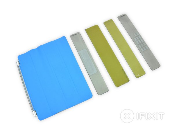 iPad 2's Smart Cover Repairability Score: 0 out of 10 (10 is easiest to repair)