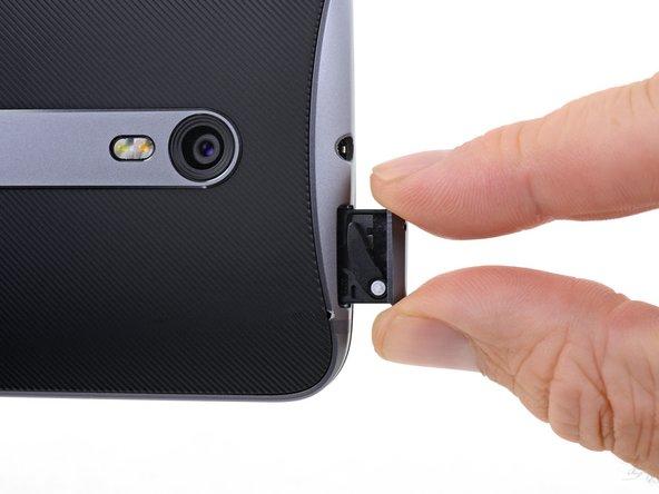 Reemplazo de bandeja SIM del Motorola Moto X Pure Edition