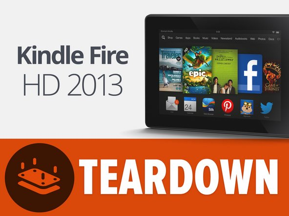 Here it is, the Kindle Fire HD 2013—and it's bringin' the heat: