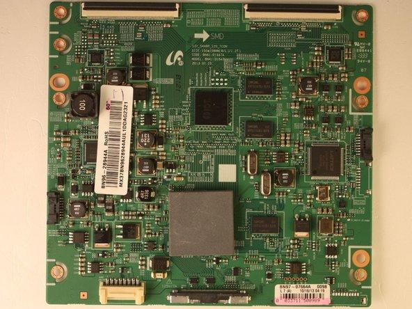 """Repairing Samsung 60"""" LED TV UN60FH6003FXZA T-Con failure"""