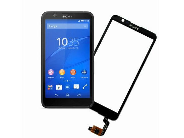 Sony Xperia E4 Touch Screen Glass / LCD Display Replacement