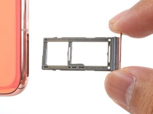 SIM/Micro SD Card Tray