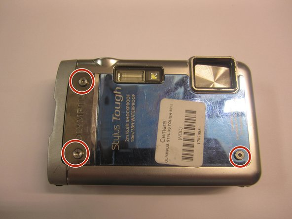 Olympus Stylus Tough-8010 Side Panel Replacement