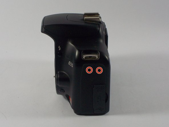 Canon EOS Rebel XS Latch Side Cover Replacement
