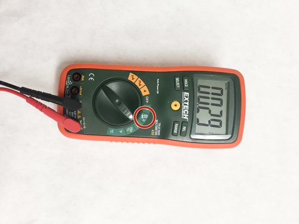Speaker Testing Option 2: This option requires the use of a digital multimeter that has a continuity setting.