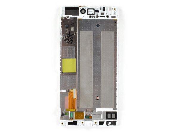 Substituição do display com armação do Huawei P8