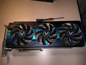 Sappire Vapor-X AMD R9 280x Teardown