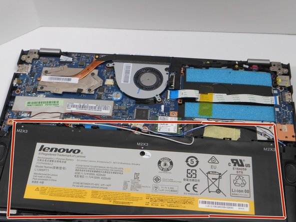 "Lenovo Yoga 2 13"" Battery Replacement"