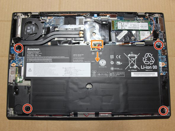 Use only plastic tools to disconnect battery cable