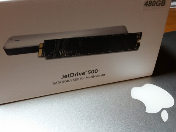 """MacBook Air 13"""" Late 2010 Primary Storage Replacement"""