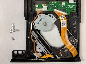 Disc Tray Locking Mechanism