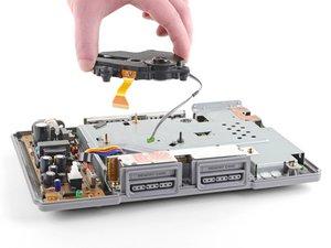 Cambio de la unidad óptica de una PlayStation