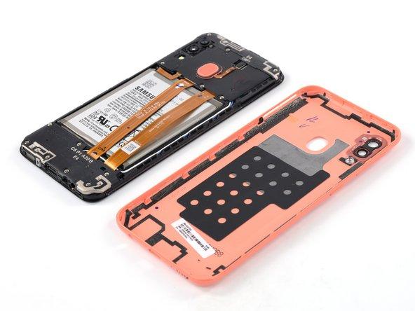 Remplacement de la coque arrière du Samsung Galaxy A20e
