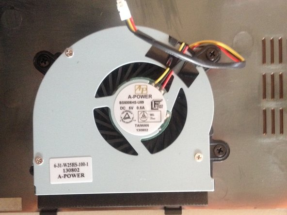 Remplacement du ventilateur why! W253EU