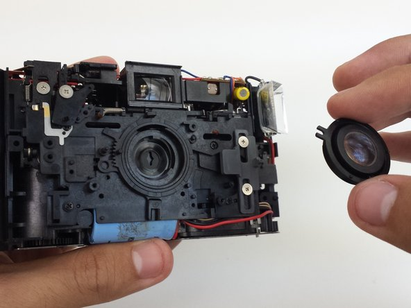Ricoh YF-20 Super Lens Replacement