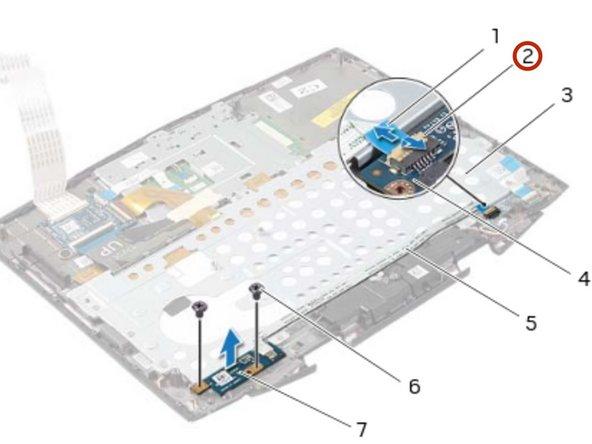 Dell Alienware 14 Power-Button Board Replacement