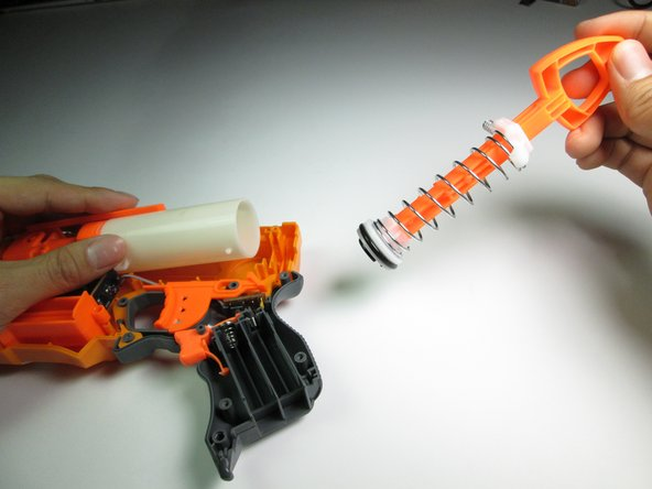 Nerf N-Strike Firestrike O-Ring and Plunger Replacement