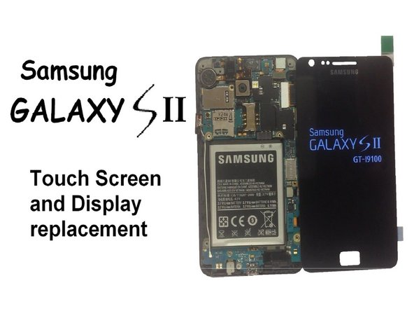 Samsung Galaxy S II Front Glass/Digitizer Replacement