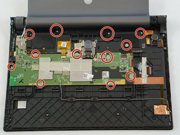 Lenovo Yoga Tab 3  10 Motherboard Replacement