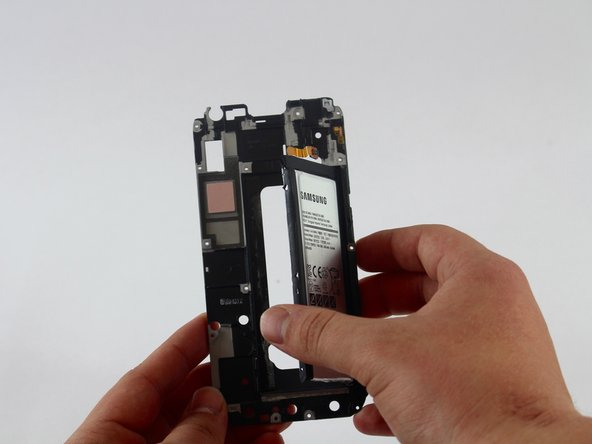 Remove the battery from the frame.