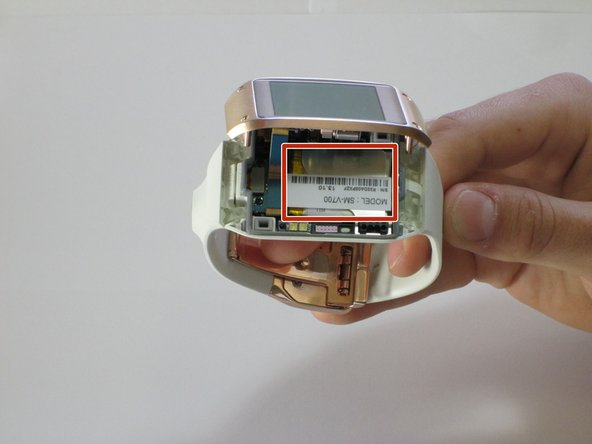 Samsung Galaxy Gear Battery Replacement