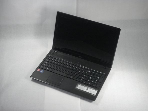 Fling your laptop over and open it as shown in the image.
