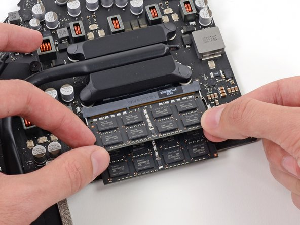 """Good news: The iMac's RAM is """"user-replaceable."""""""