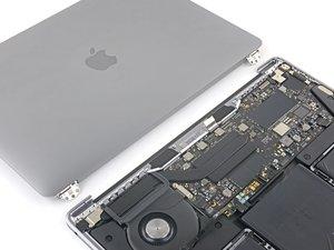 MacBook Pro 13インチ Two Thunderbolt  Late 2020 ディスプレイアセンブリの交換