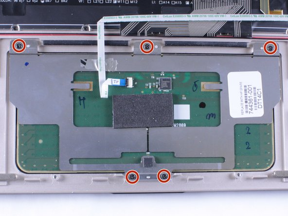 hp spectre 13-3010dx Track Pad Replacement