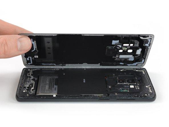 Samsung Galaxy S9+ Glasrückseite austauschen