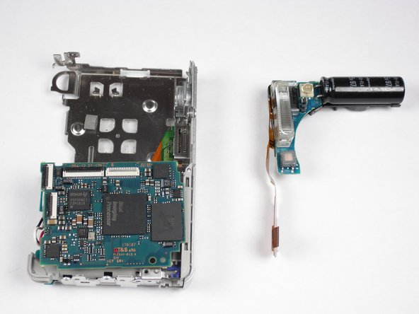 Sony Cyber-shot DSC-W55 Flash Assembly Replacement