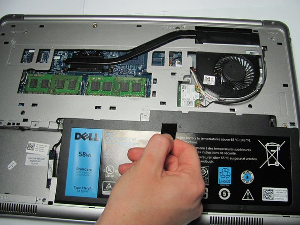 Ground the system board by turning over the computer, opening the display, and holding the power button down for about 5 seconds before proceeding.