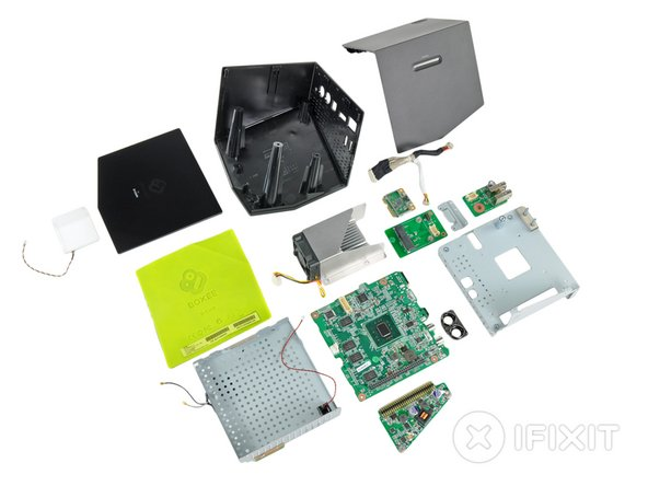 Boxee Box Repairability: 7 out of 10 (10 is easiest to repair)