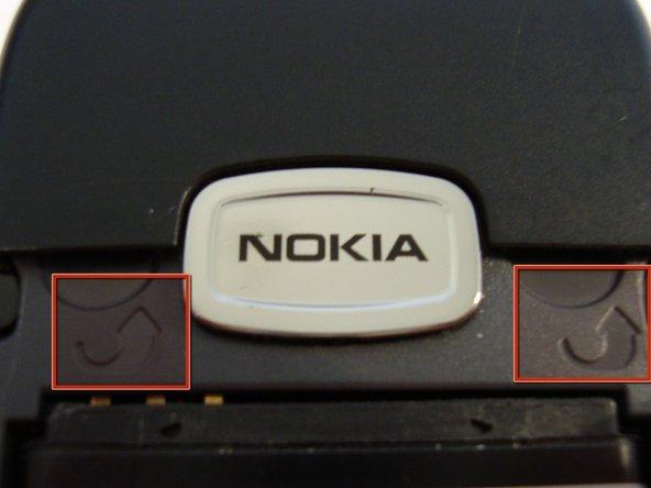 Remplacement de la face avant du Nokia 6030