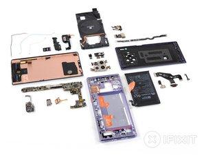 Vue éclatée du Huawei Mate 30 Pro