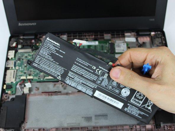 Remplacement de la batterie du Lenovo 100s Chromebook-11IBY