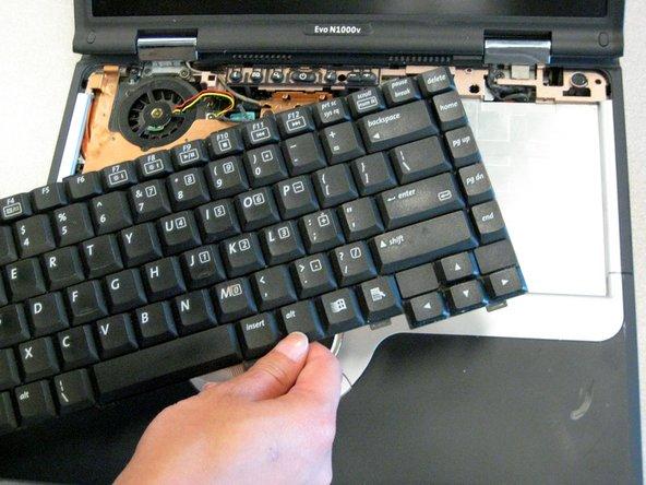 Compaq Evo N1000v Keyboard Replacement