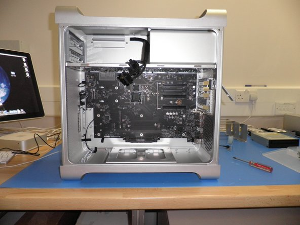 Unit with, PSU, BackPlane Board, Front Panel Board.