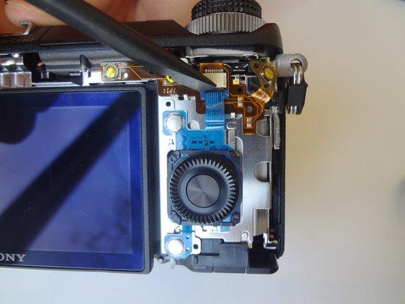 Sony Alpha NEX-6 Control Wheel Replacement