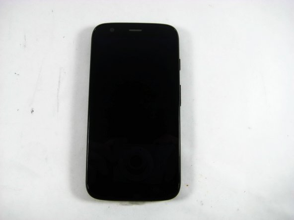 Motorola Moto G XT1034 Back Case and Battery Cover Disassembly