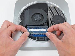 Mac mini Late 2012 RAの交換