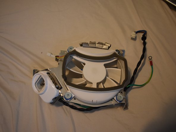 eMac Fan Assembly Replacement