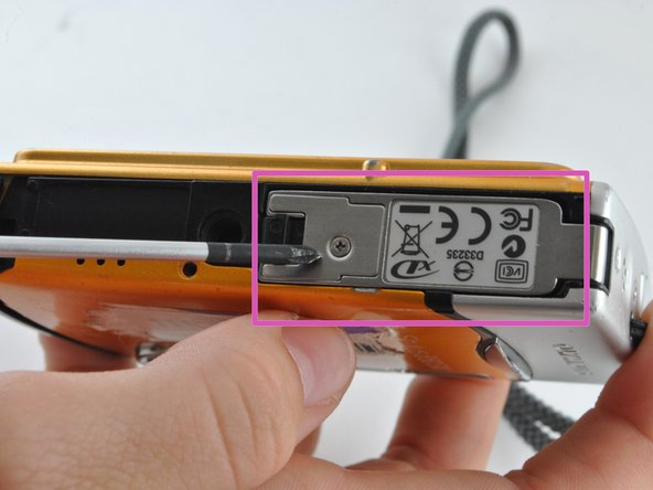 Locate the battery latch on the bottom of the device.