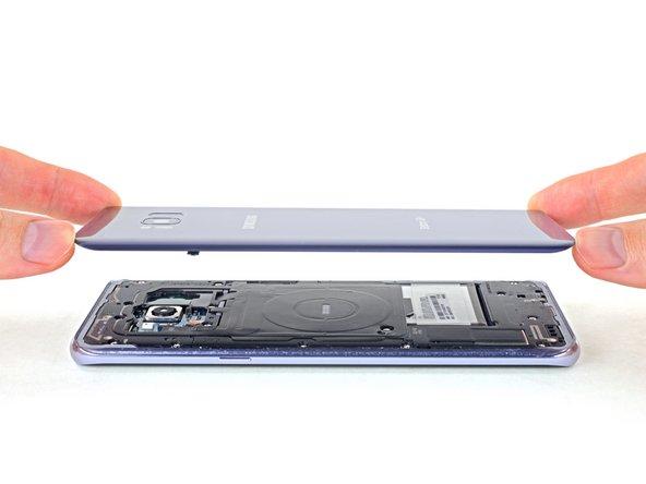 Samsung Galaxy S8+ Rückabdeckung ersetzen