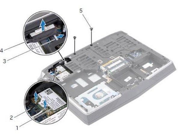 Dell Alienware 14 Reemplazo del ensamblaje de la pantalla