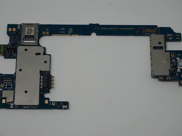 LG Tribute 5 Motherboard Replacement