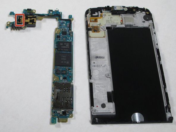 LG G5 Camera Sensor Replacement